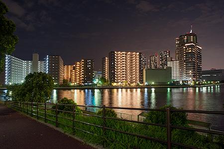 潮見運動公園の夜景