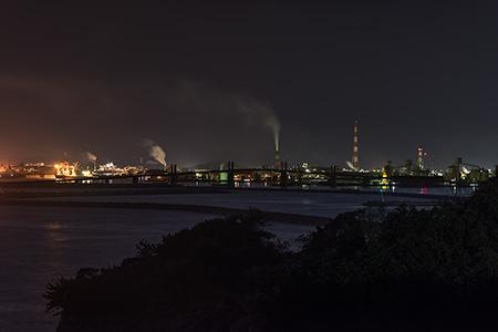 潮見台の夜景