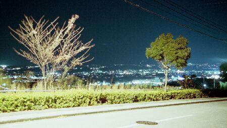 潮見台ニュータウンの夜景
