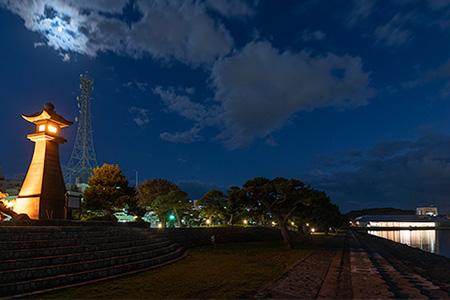 白潟公園の夜景