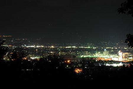 白尾山公園の夜景