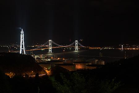 白鳥台の夜景