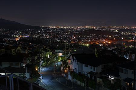城山台 第2児童公園の夜景