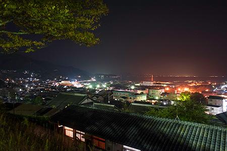 城山公園の夜景