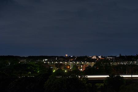 城山神社の夜景
