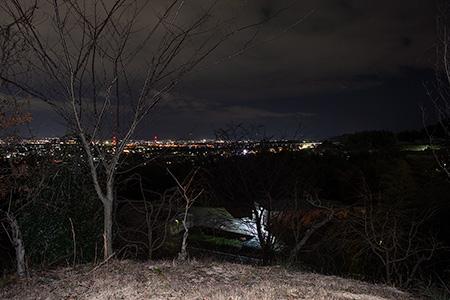 史跡の丘の夜景