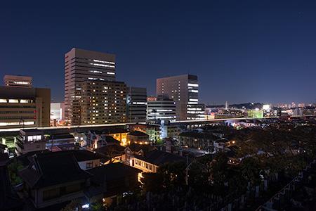 正覚院の夜景