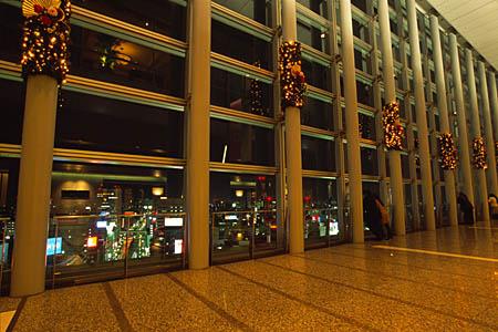 スカイストリートの夜景