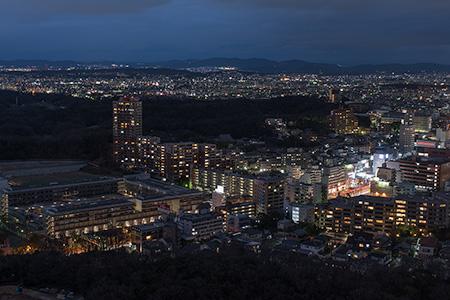 東山スカイタワーの夜景
