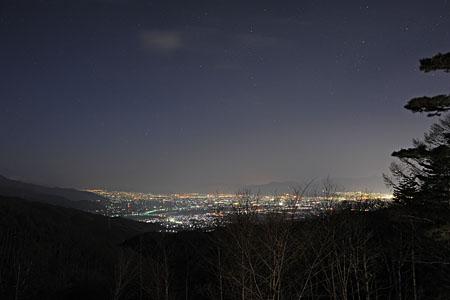 スカイランドきよみずの夜景