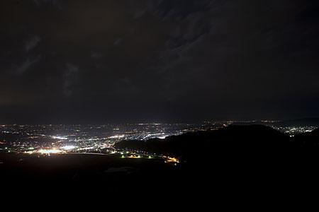 南陽スカイパーク 十分一山展望台の夜景