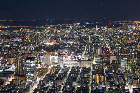 東京スカイツリー 天望デッキの夜景