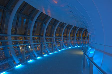 東京スカイツリー 天望回廊の夜景