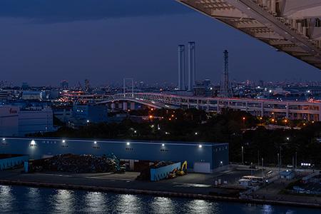 SKYWALKの夜景