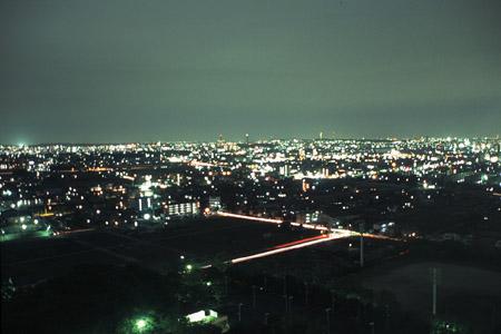 スカイワードあさひの夜景
