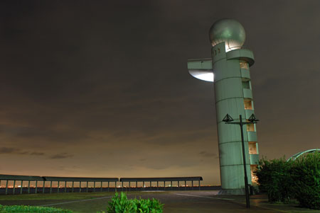 袖ヶ浦海浜公園の夜景
