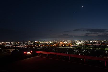 曽我別所の夜景