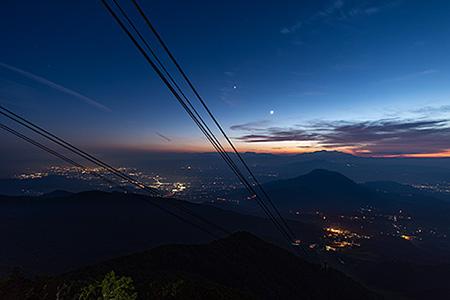 竜王マウンテンパーク SORA terraceの夜景