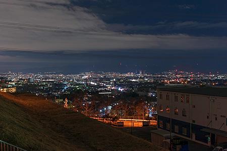 空見の丘公園の夜景