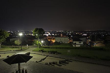 双太山公園の夜景