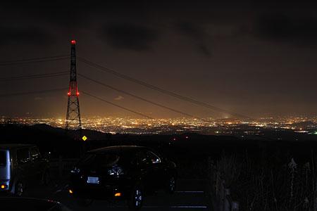 グリーンロード南阿蘇の夜景