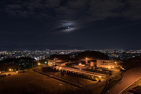 平和南緑地展望台の夜景