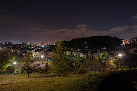 宮崎そよかぜ公園の夜景