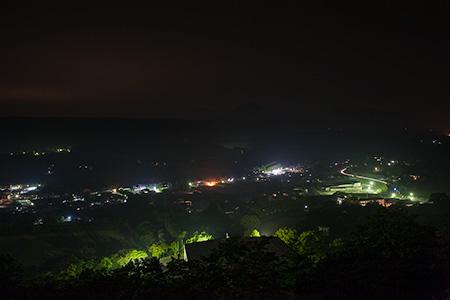たちばな天文台 星の燈台の夜景