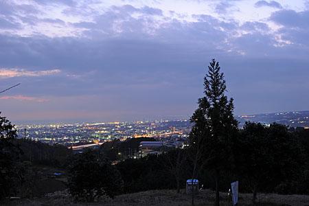 末広山公園の夜景