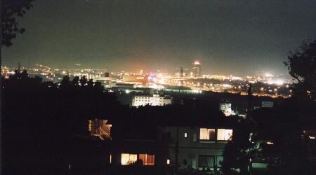 杉久保第一児童公園の夜景