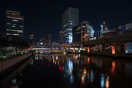 水晶橋の夜景