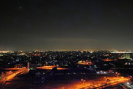 すいとぴあ江南の夜景