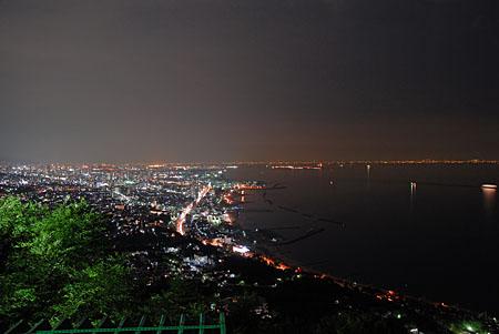 須磨浦山上園地 東部展望台の夜景