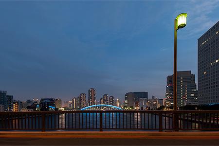 隅田川大橋の夜景