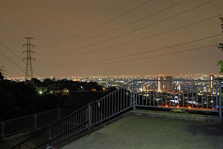 すみれガ丘の夜景