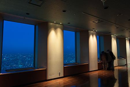スカイサーカス(サンシャイン60展望台)の夜景