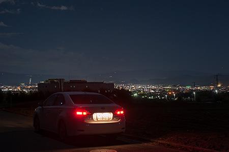 駿河平の夜景