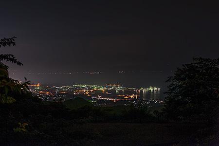 須々原展望台の夜景