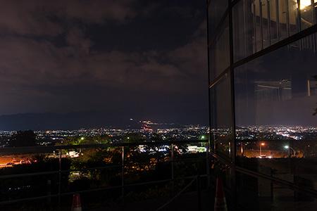釈迦堂PAの夜景