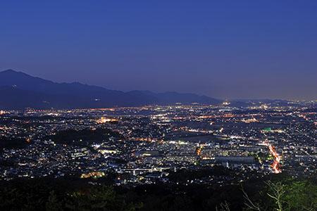 湘南平の夜景