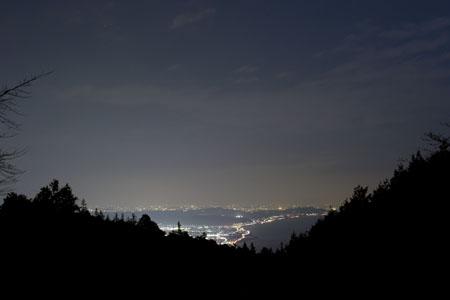 湘南ビュー展望台 箱根ターンパイクの夜景