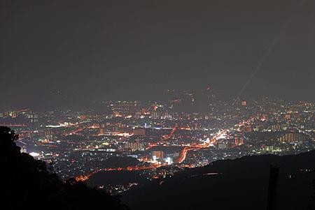 正蓮寺の夜景