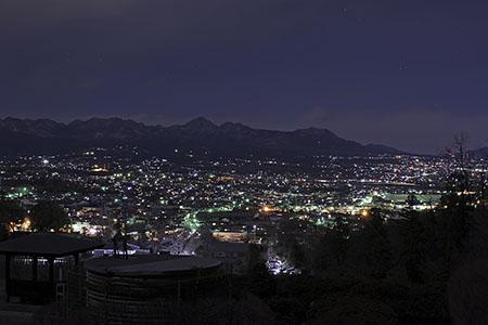 少林山 展望デッキ