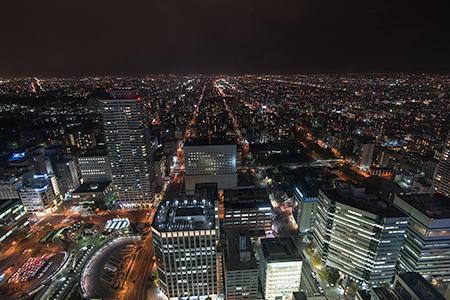 夜景100選「JRタワー展望室 T38」
