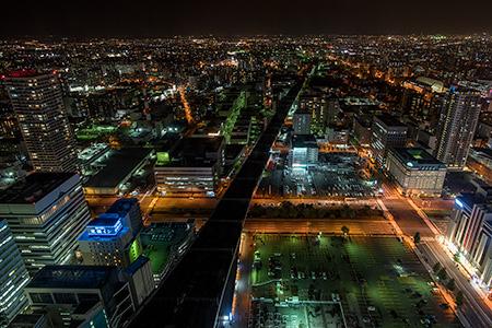 JRタワー展望室 T38の夜景
