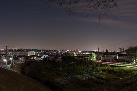 たちばな公園の夜景