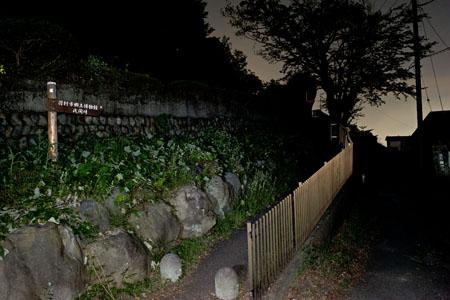 立川国際カントリークラブ付近の夜景