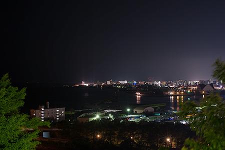 多賀山公園の夜景