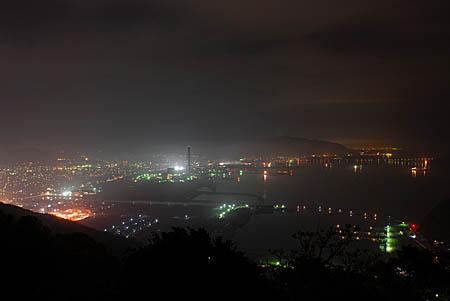 太華山の夜景