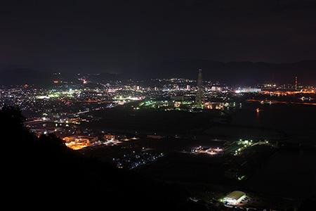太華山 周遊道路の夜景